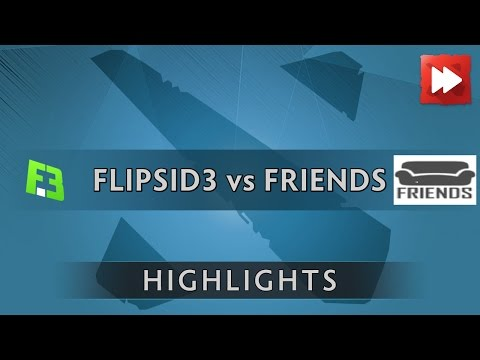 FlipSid3 Tactics vs Friends - Boston Major Open Qualifier - Dota Highlights