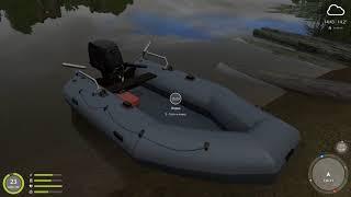 Русская рыбалка 4 - река Волхов - Лещ у жд моста