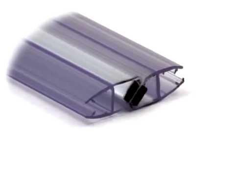 Byretech Magnetic Door Seal For Shower Doors Youtube