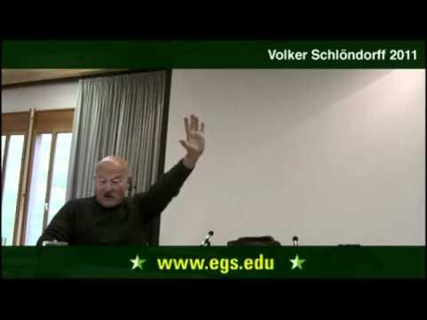 Volker Schlöndorff. The Work of a Director. 2011