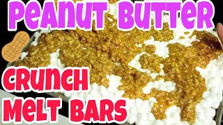 Peanut Butter Crunch Melt - Cookies And Or Bars For Christmas!