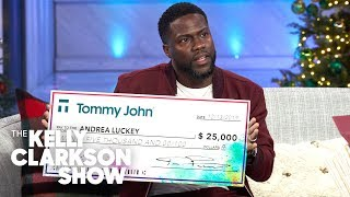 Kevin Hart Changes A Single Mother's Life With $25,000 Scholarship