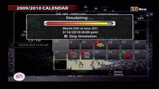 NCAA March Madness 06 - Dynasty Mode (Year 5)