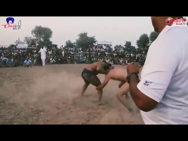 Rubal Khanna vs Birju Delhi at Ban Malpur kushti dangal 27-10-2017