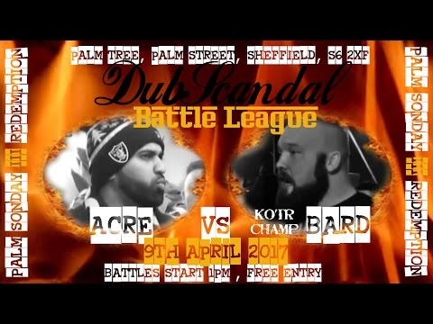ACRE VS BARD | DubScandal Rap Battle