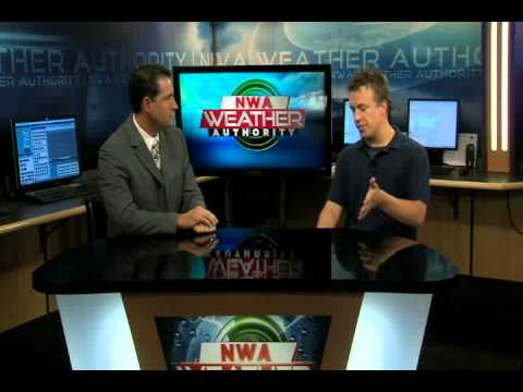 Reed Timmer Interview at KNWA and FOX 24