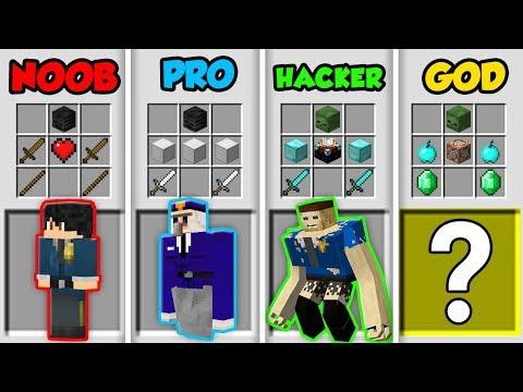 Minecraft NOOB vs. PRO vs. HACKER vs. GOD: POLICE in Minecraft! (Animation) thumbnail