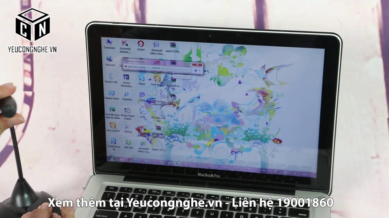 Mic thu tiếng cho máy tính, laptop ở Hà Nội CM222