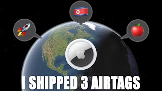 I sent an AirTag to North Korea, Tim Cook and Elon Musk!