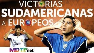Triunfos sudamericanos a europeos
