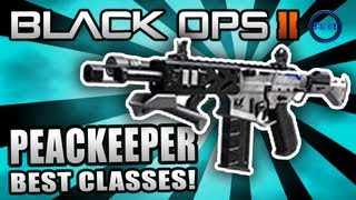 "Black Ops 2 ""PEACEKEEPER"" - Best Class Setup (Objective Based) - Map Pack Multiplayer Gameplay"