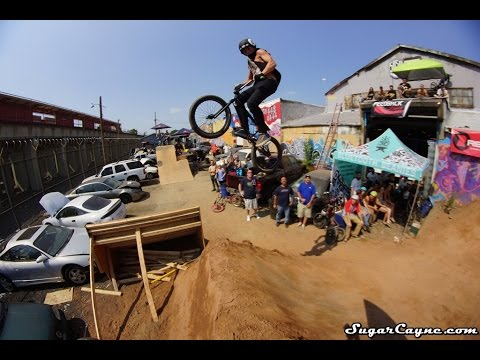 BMX: Vinny Mannino At The Outlaws Of Dirt Jam Stop#4 NYC