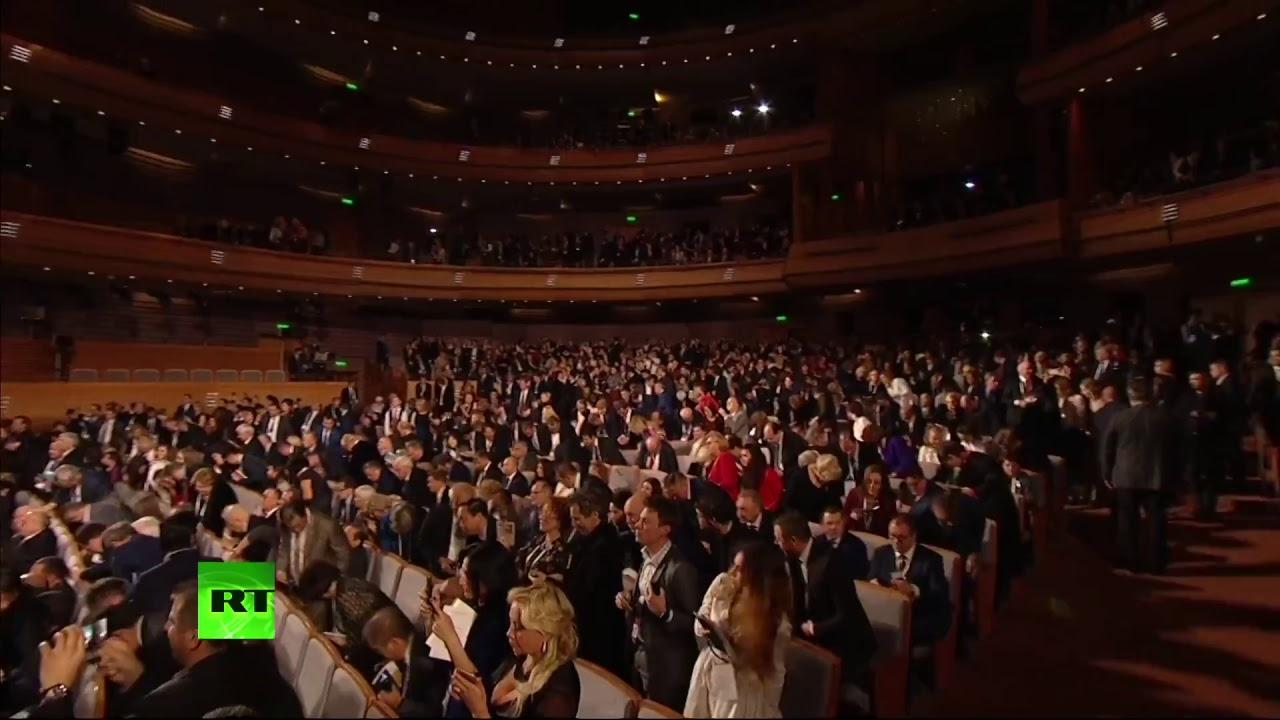 Путин открывает VI Санкт-Петербургский международный культурный форум