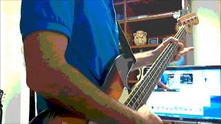 """""""Short and Curlies"""" - Rolling Stones -  Bass cover ala Bill Wyman"""