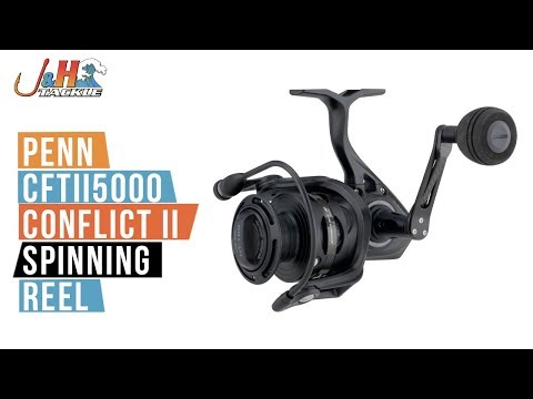 Penn CFTII5000 Conflict II Spinning Reel | J&H Tackle