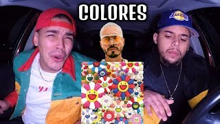J BALVIN - COLORES | REACCION REVIEW