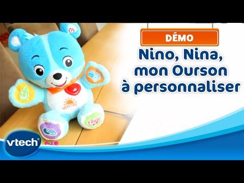Nino & Nina, Mon ourson à personnaliser - Rendez-le unique pour bébé | VTech