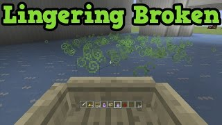 Breaking Minecraft Xbox 360 - With Lingering Potions