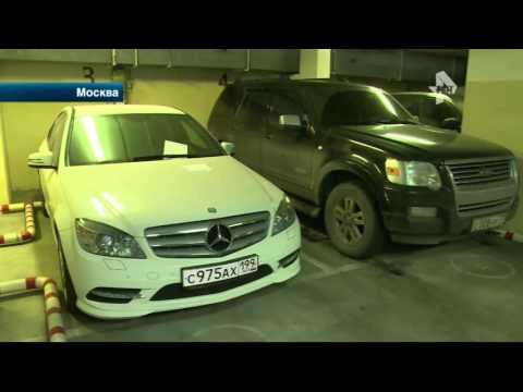 Жильцы дома устроили драку с  охранниками подземной парковки в Москве