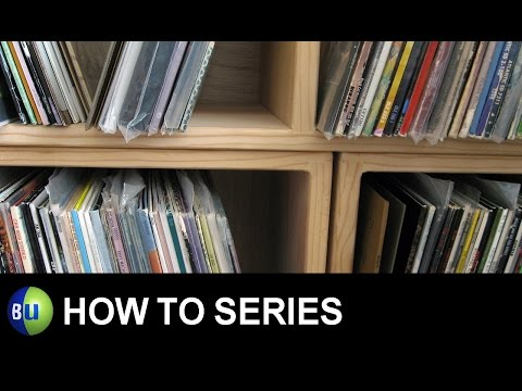 BU's How To Series: Record Jacket Repair Part 1 of 2