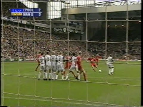 Liverpool 3 Manchester United 1 04/11/2001