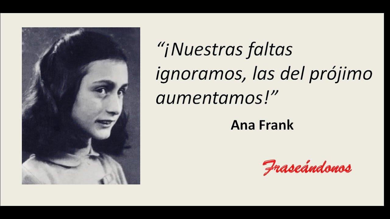 Ana Frank Frases Youtube
