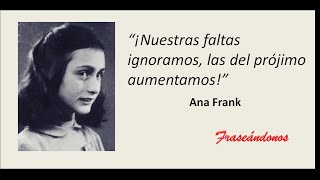 Ana Frank Frases By Fraseandonos Momentos