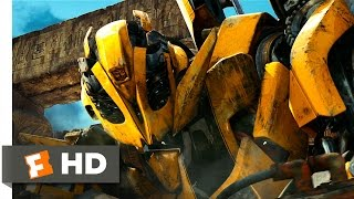 Transformers Revenge of the Fallen (2009) - Bumblebee vs. Rampage Scene (810) Movieclips