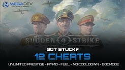 Sudden Strike 4: Unlimited Prestige, Fuel, Ammo, Godmode, ... | Trainer by MegaDev
