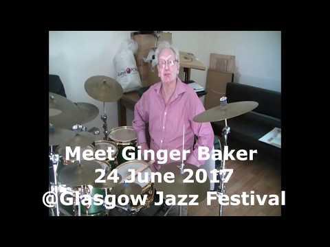 Ginger Baker Glasgow Jazz Festival 2017