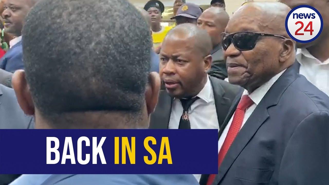 Zambia : South African president Jacob Zumas state visit