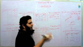 رياضيات خامس ابتدائى  الدرس الخامس الفصل الخامس   جداول الدوال