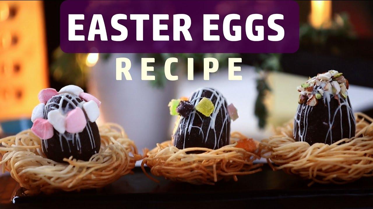 Download Chocolate Easter Eggs Recipe   Easter Special   Amrita Raichand