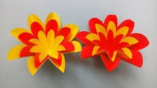 Simple Paper Cutting Flower