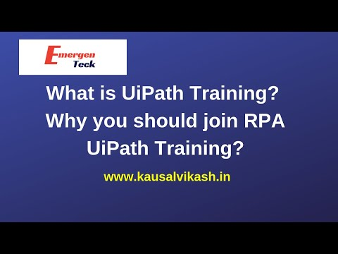 UiPath Certification | UiPath Training (Courses) in Pune
