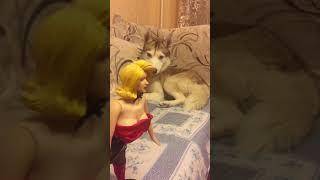 Я, девушка и собака