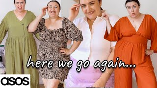 Giving ASOS a second chance... ASOS CURVE TRY ON HAUL 2021