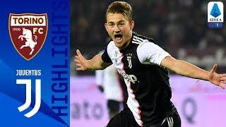 Torino 0-1 Juventus | Primo gol di De Ligt in Serie A, e la Juve torna in testa! | Serie A