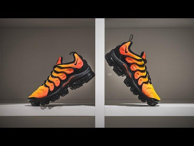 """206e5be7cae Nike Air Vapormax Plus """"Sunset"""" Review – Sean Go"""
