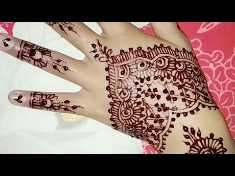 Henna Pengantin Cantik Dan Simple Beautiful Simple Mehndi Design