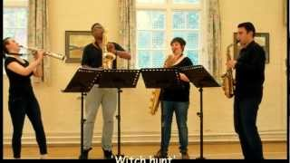 Witch Hunt – saxophone quartet music