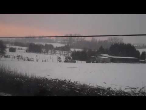 A video from my office in snow