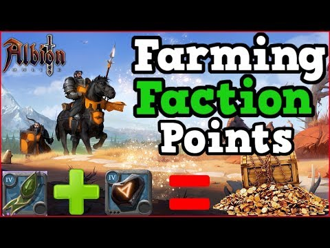 Albion Online l Beginners Guide To Farming Faction Points