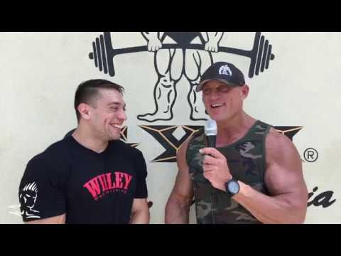 Robert Willey talks about competing in his 3rd USA on Muscle Beach TV