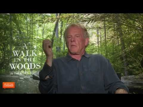 Exclusive Interview: Nick Nolte Talks A Walk In The Woods [HD]