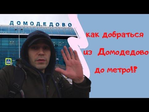 как добраться до Москвы из аэропорта Домодедово? Москва - Домодедово - Москва
