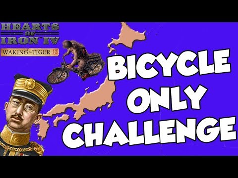 Hearts of Iron 4 HOI4 Waking the Tiger Bicycle Division Conquest Challenge