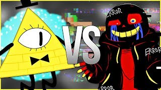 ERROR SANS VS БИЛЛ ШИФР | СУПЕР РЭП БИТВА | Bill Cipher Gravity Falls ПРОТИВ Эррор Санс Undertale