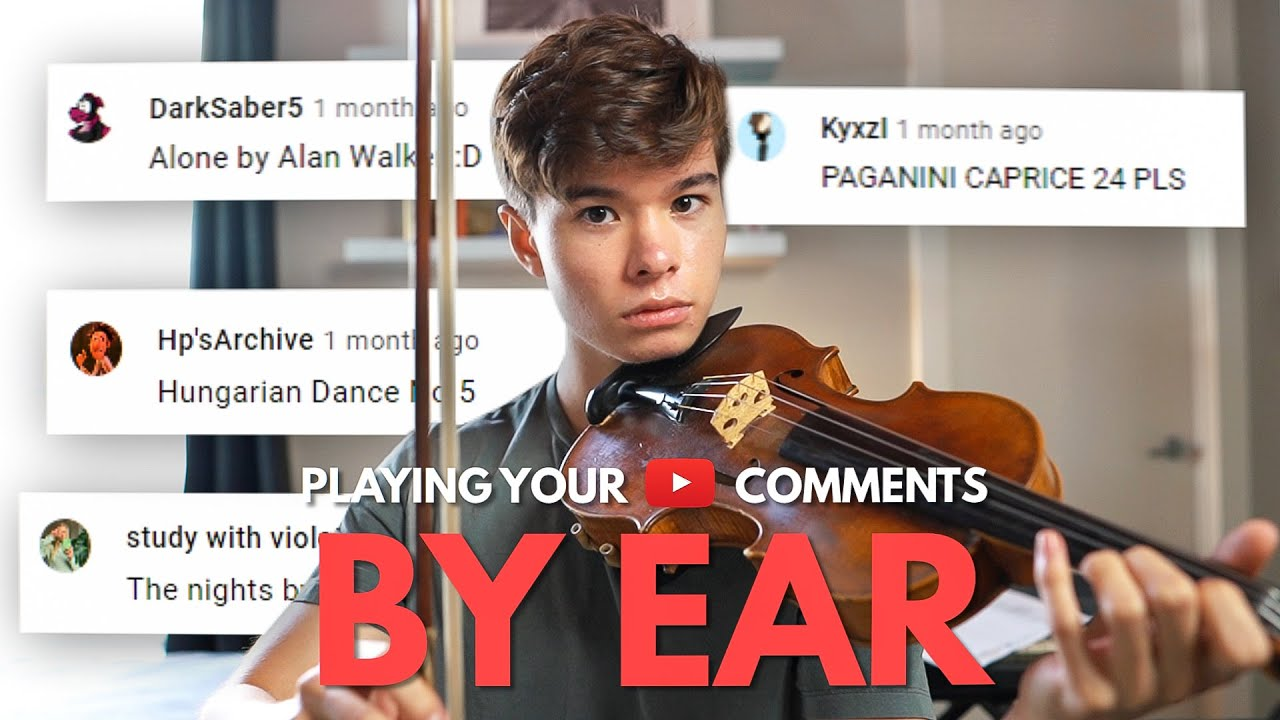 Playing Your YouTube Comments By Ear
