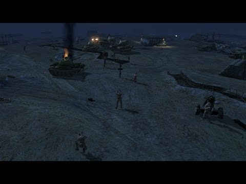 Men of War Vietnam - NV campaign walkthrough - Mission 5 - Happy Tet Day 2/2  